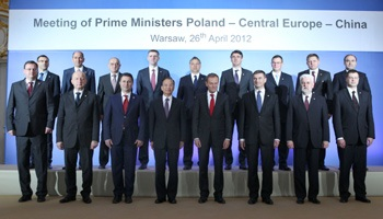 Wen meets E Euro leaders