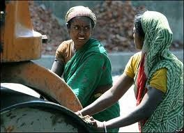 Indian women labourers
