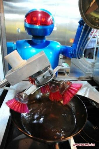 robot dishwasher