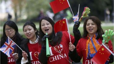 Supporters of China